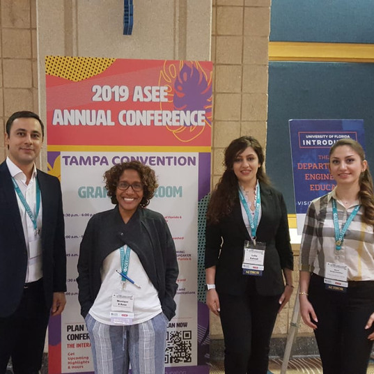 We present our work at ASEE 2019