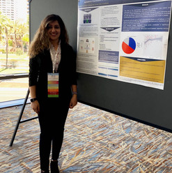 We share our research at Tapia in San Diego, 2019