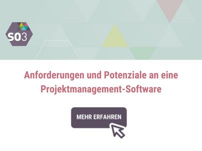 Anforderungen und Potenziale an eine Projektmanagement-Software