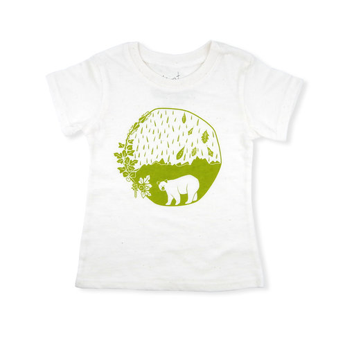 East Coast Eco-Blend Baby + Kids Tee in Natural