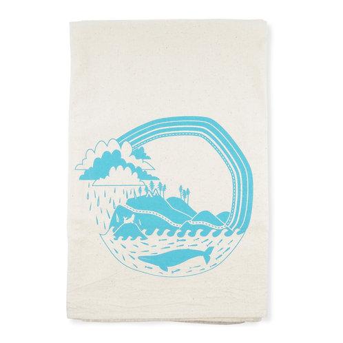 West Coast All Natural Flour Sack Tea Towel