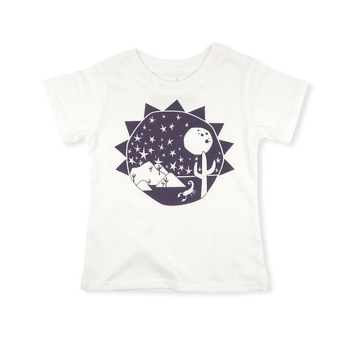 Southwest Eco-Blend Baby + Kids Tee in Natural