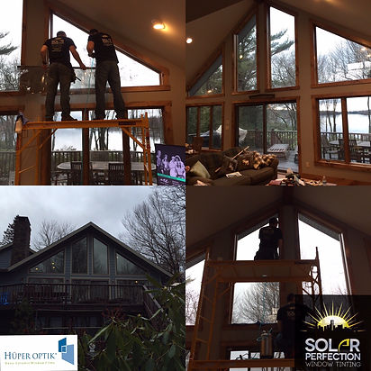 residential window tinting - tannersville pa, solar perfection window tinting inc