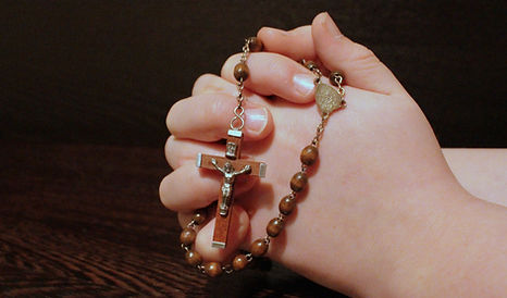 Perles de chapelet chrétiens
