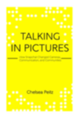 Talking in Pictures Book Cover Chelsea Peitz Snapchat Expert