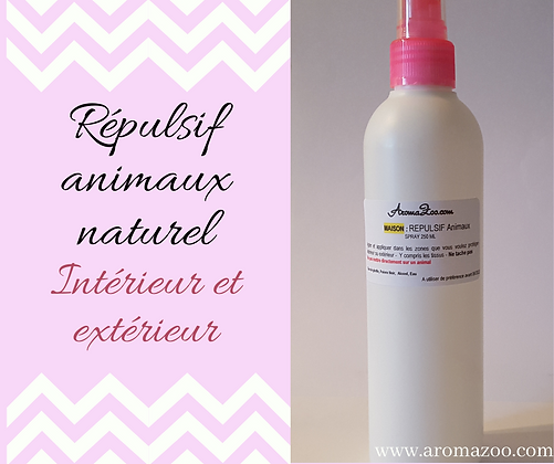 Maison Spray Répulsif Animaux 250 ML