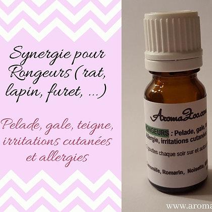 Pelade, Hot spot, teigne et irritations cutanées- Rongeurs - Aroma/Homéo