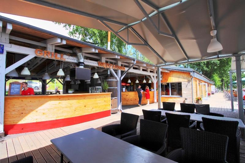 Stanica Wodna Stranda - bar restawracja
