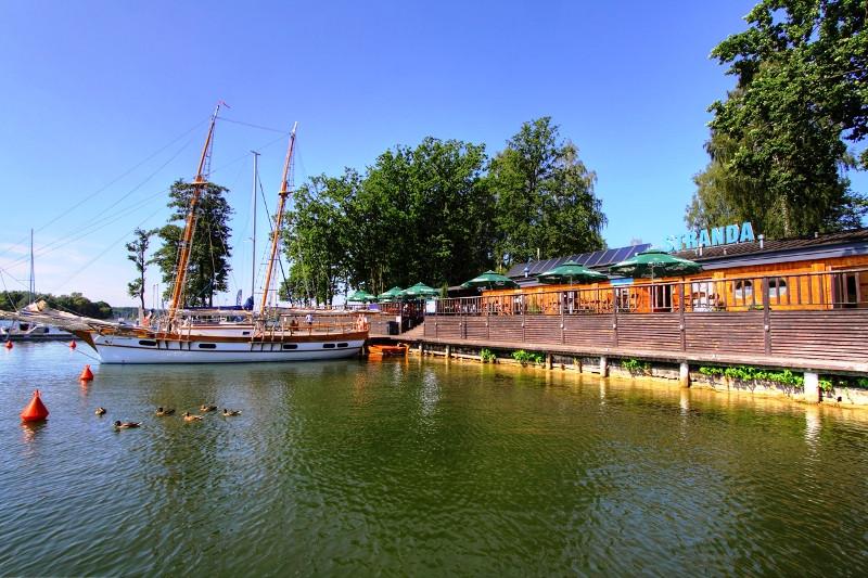 Stanica Wodna Stranda - port jachtowy