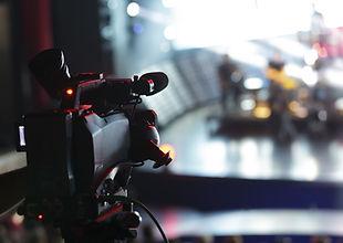 Video Camera Shooting in Studio