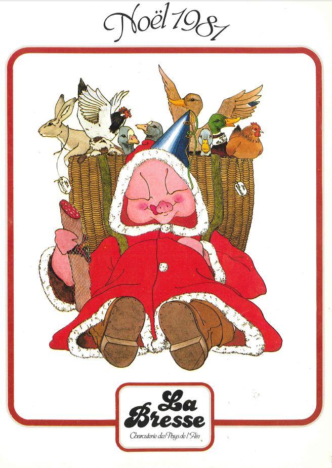La Bresse Noel 1981