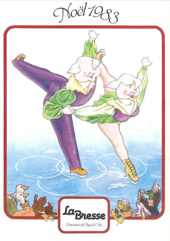 La Bresse Noel 1983