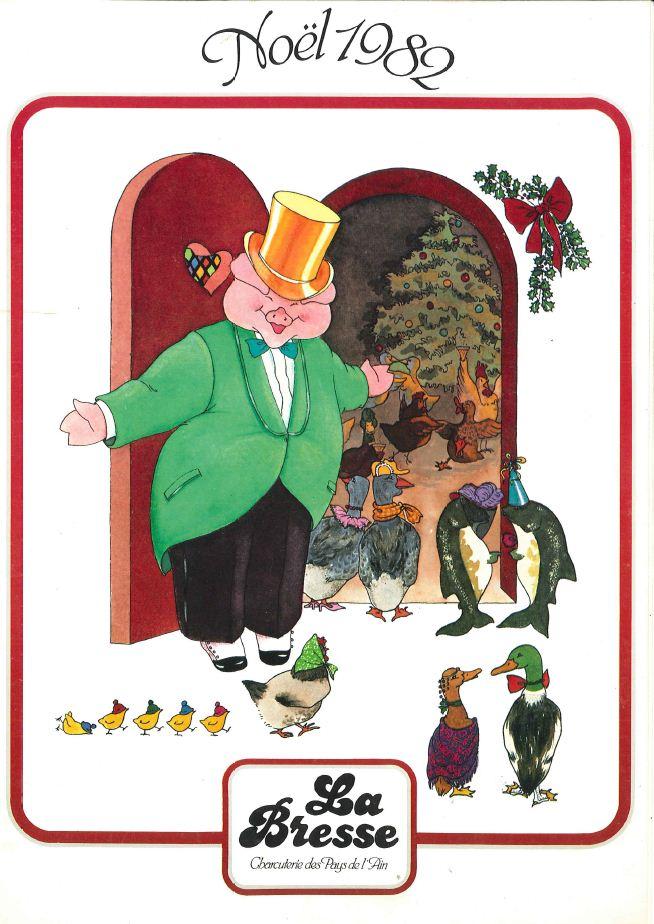 La Bresse Noel 1982
