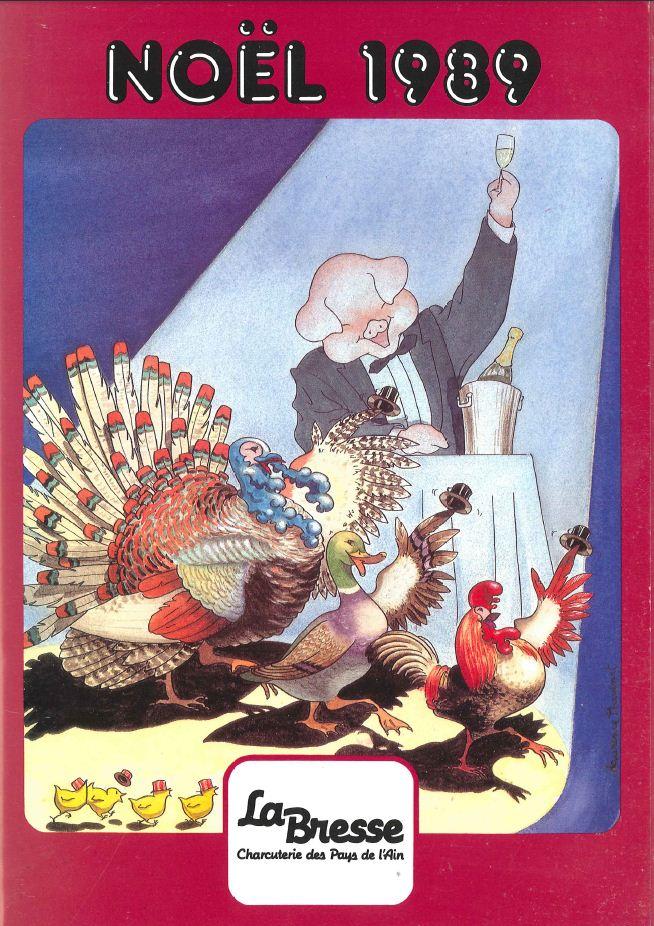 La Bresse Noel 1989