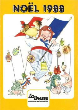 La Bresse Noel 1988