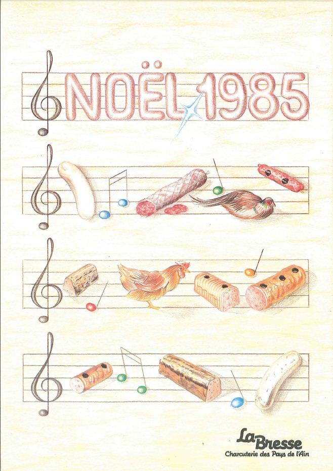La Bresse Noel 1985