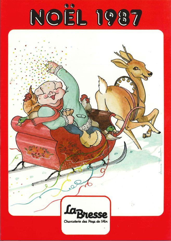 La Bresse Noel 1987