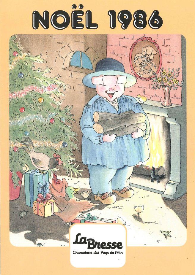 La Bresse Noel 1986