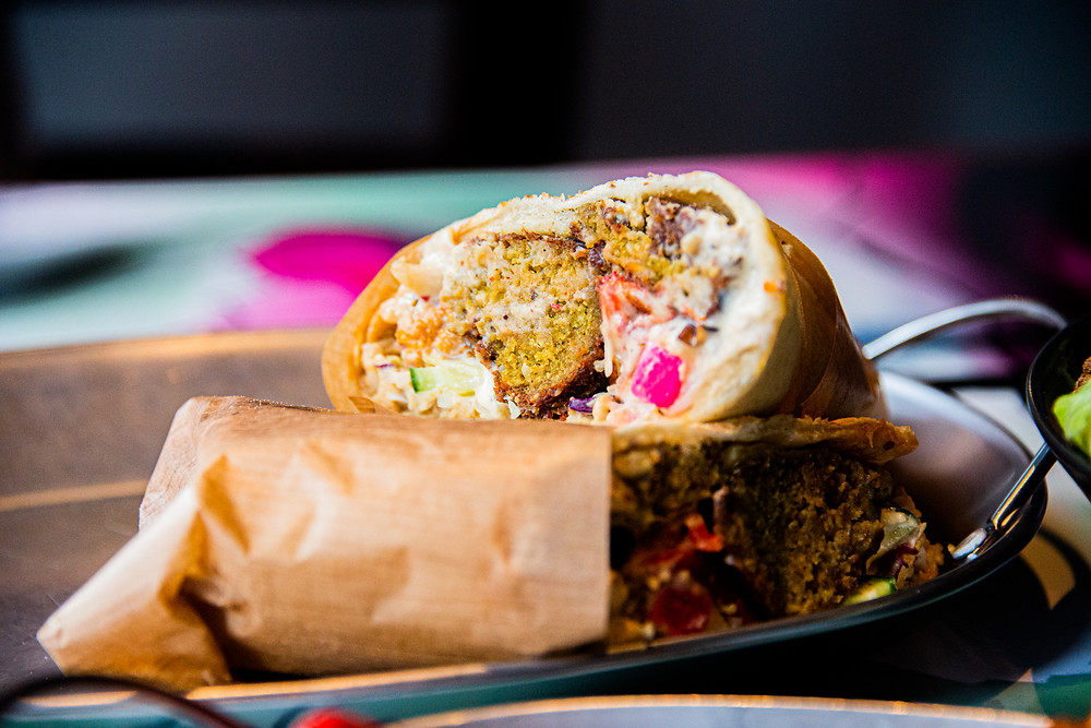 Soul Wrap with Falafel by Thefoodlovies