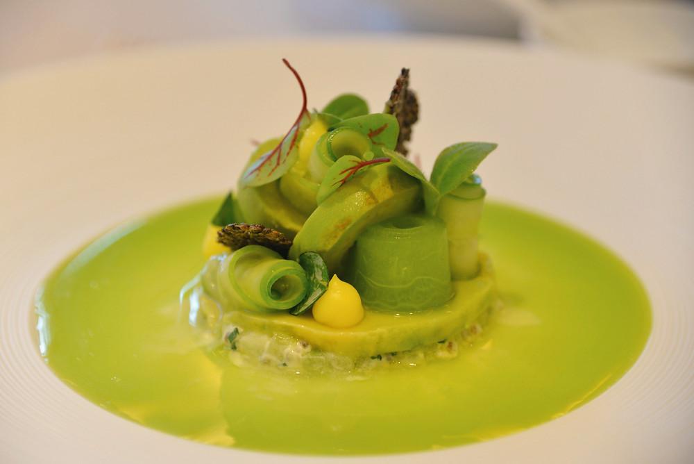 vegetarian version with avocado
