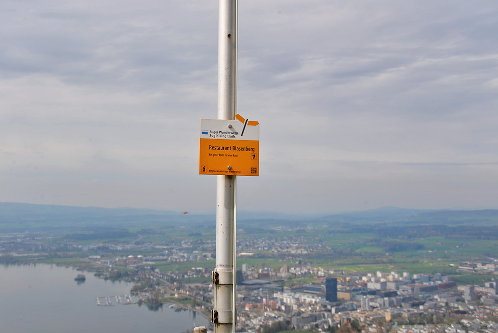 View over Zug