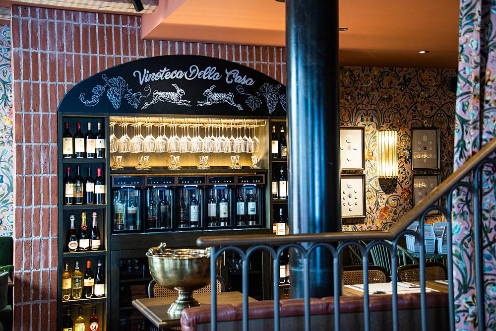 Interior Osteria Borgo by Thefoodlovies