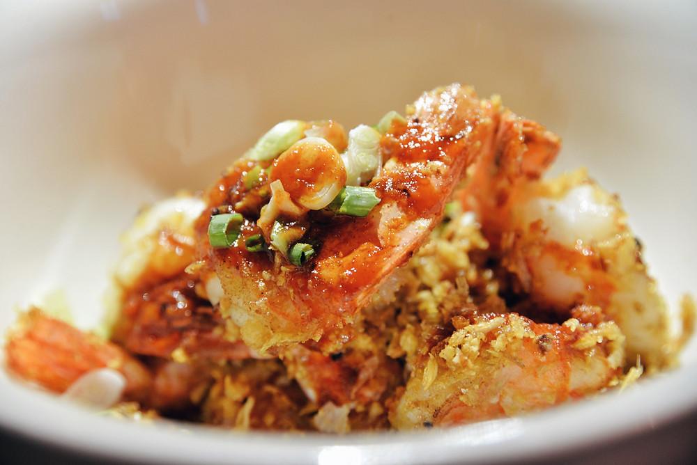 Crispy Shrimps with garlic