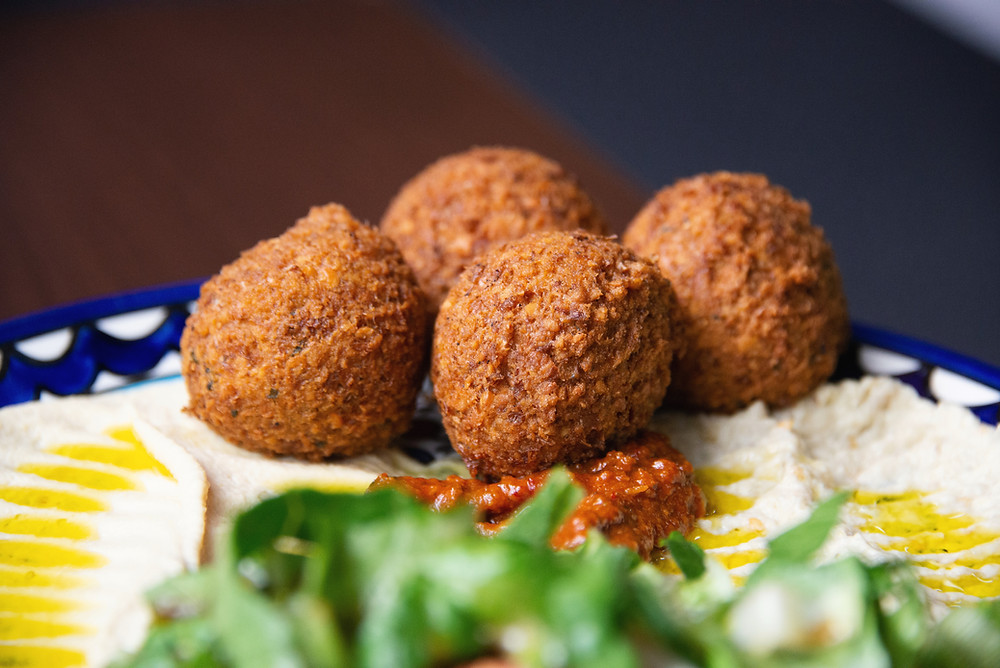 Falafel at Orient Catering