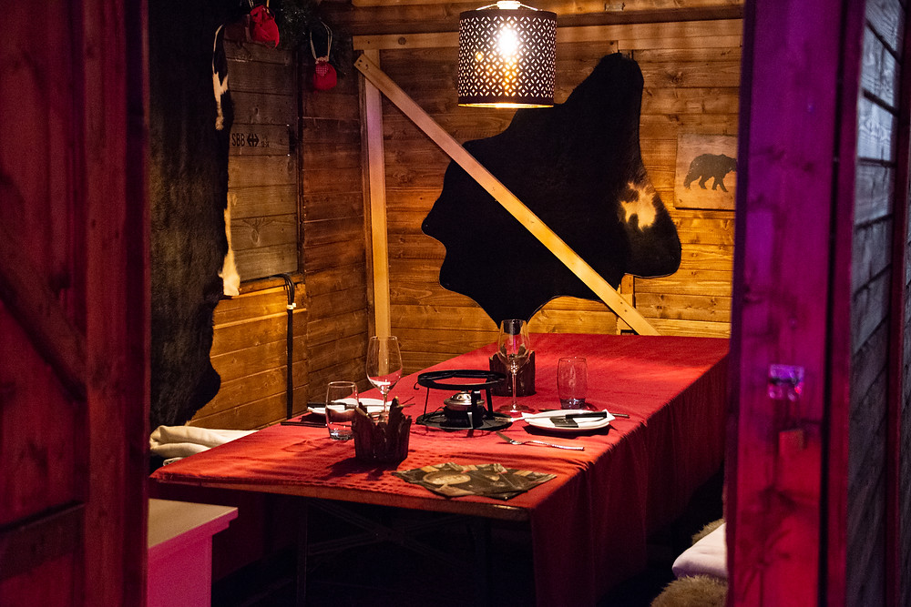 interior Renny's Chalet