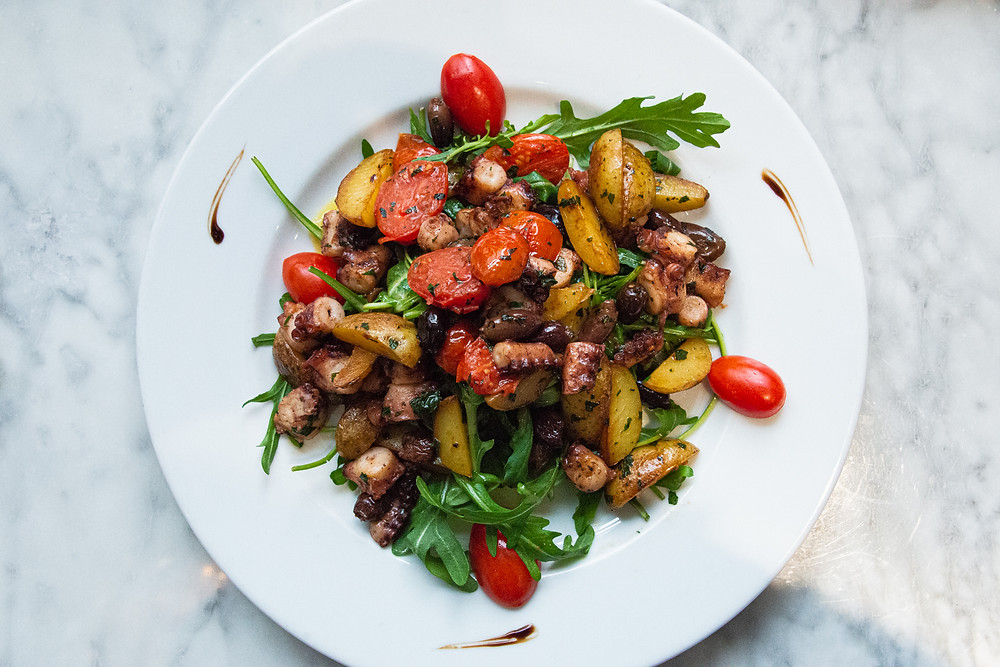 octopus salad @Molino by Thefoodlovies
