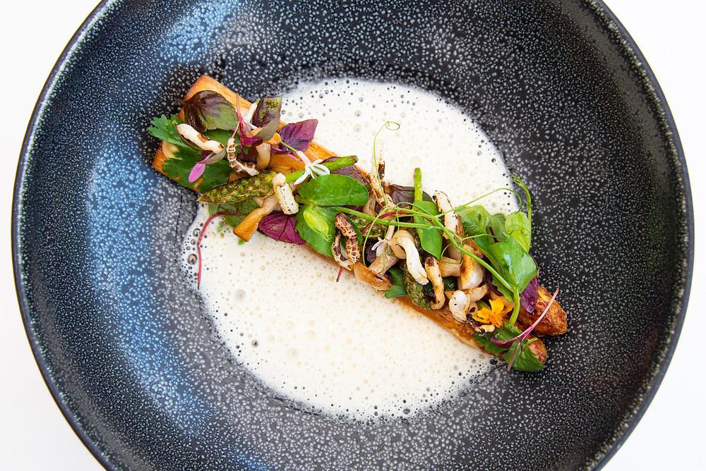 Asian-influenced miso asparagus by Stefan Jäckel | Thefoodlovies