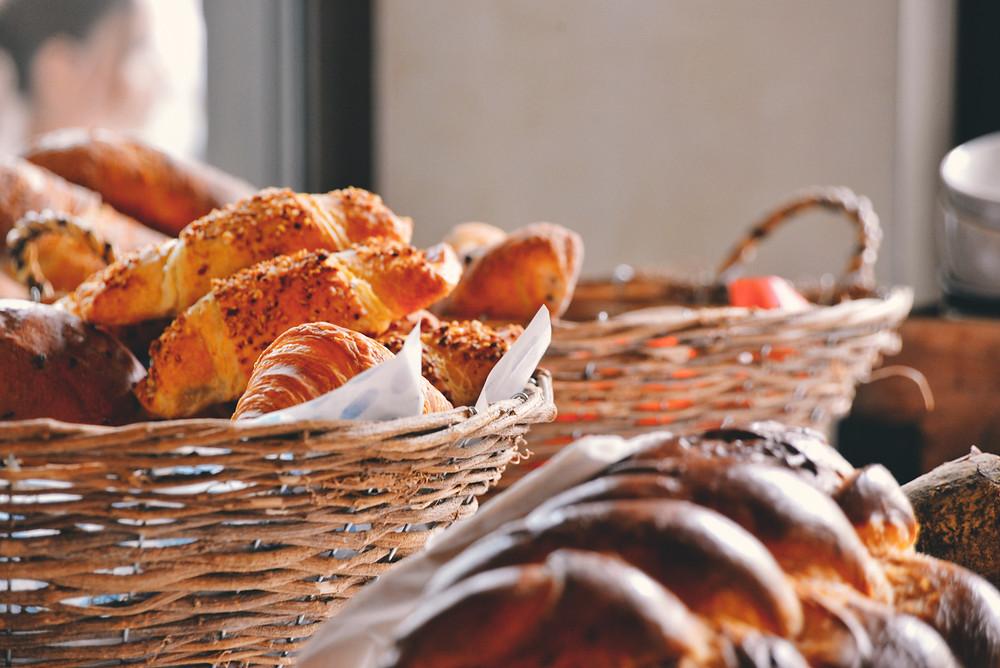 Bread, Croissants and Zopf