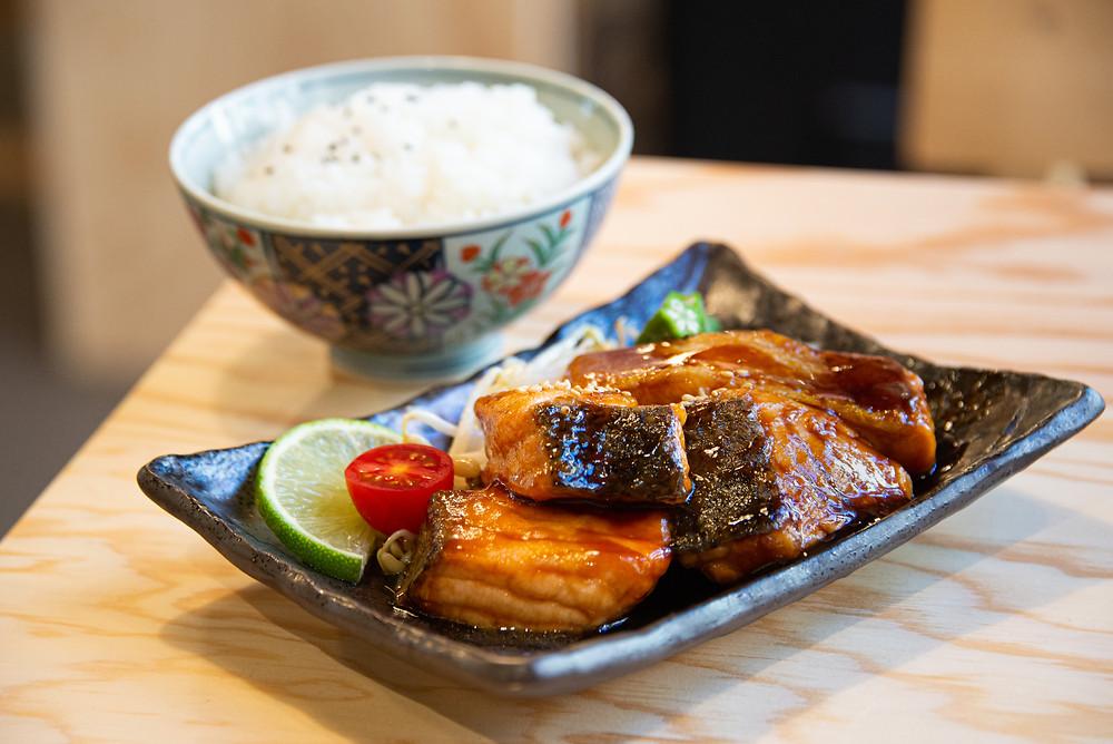 salmon teriyaki by Thefoodlovies