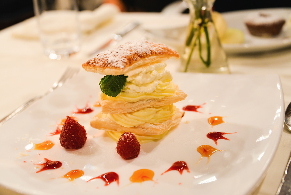 homemade millefeuille