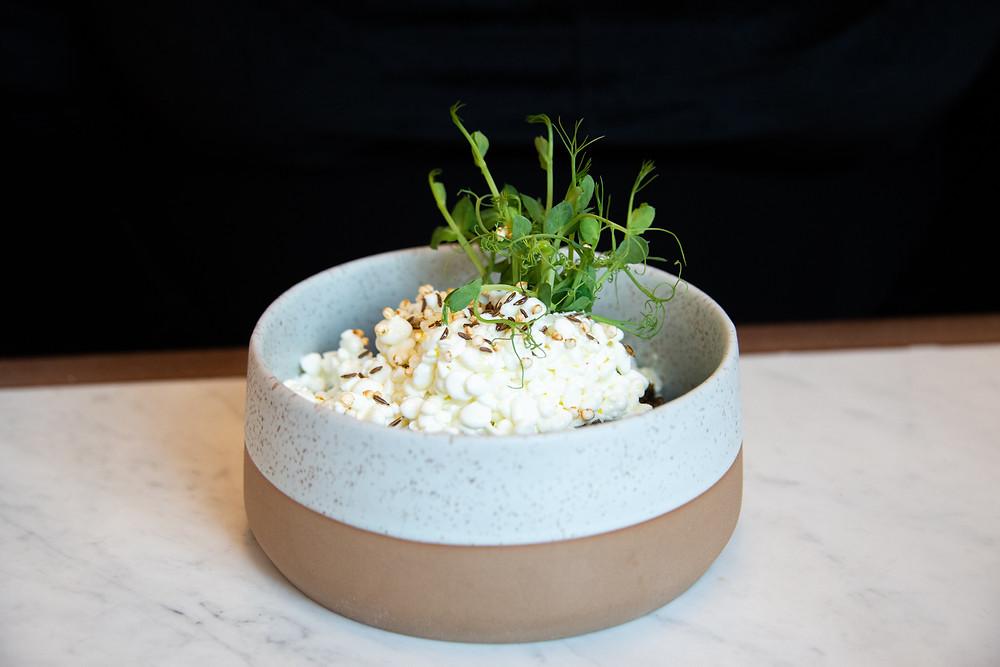 lentil salad @ Max & Otto, Zurich
