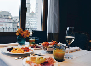 Royal brunch with a view   Storchen Zürich