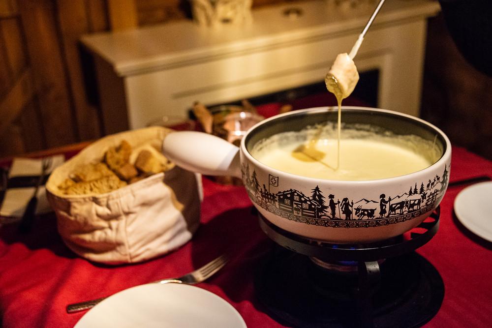 truffle fondue
