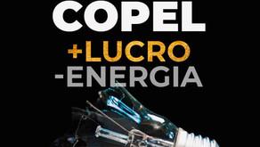 Copel - Mais lucro, menos energia