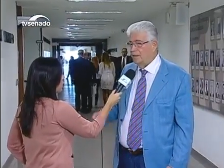 Entrevista a TV Senado sobre PL Abuso de Autoridade