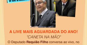 Requião Filho convida Roberto Requião para bate-papo ao vivo