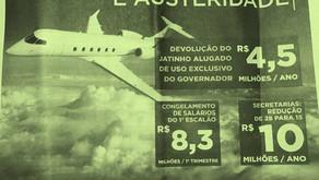 Governo gasta R$ 2,6 milhões com propaganda para divulgar 'economia' de R$ 4,5 milhões com transport