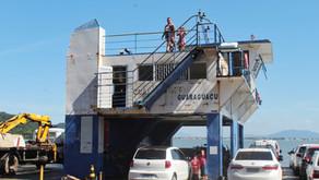 Usuários enfrentam filas de três horas para travessia em Guaratuba