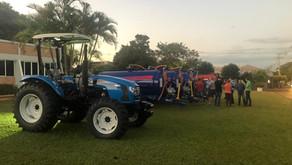 Entrega de equipamentos e recursos marcam viagem de Requião Filho ao oeste e extremo oeste paranaens