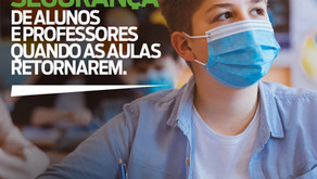 Requião Filho defende protocolo seguro de retorno às aulas