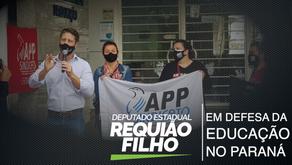 Requião Filho defende manutenção de aulas de sociologia, filosofia e artes em escolas do PR