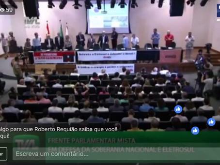 Requião lança Frente em SC e convoca brasileiros à luta