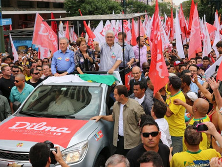 Dilma em Curitiba