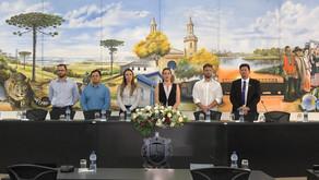 Requião Filho visita municípios paranaenses e participa de evento da UVEPAR, em Castro