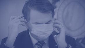 Zambelli, Bolsonaro e a máscara de proteção