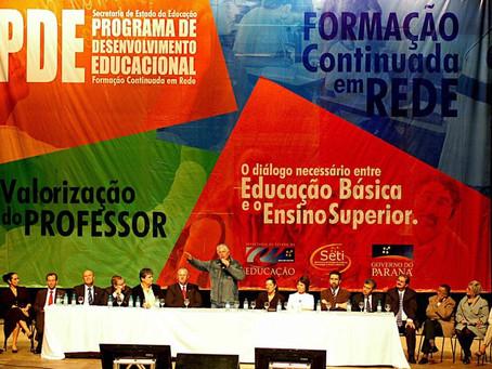 Educação pública do Paraná foi referência nacional nas gestões de Requião